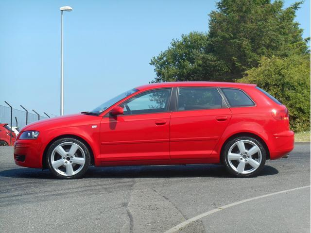 used audi a3 2008 model 1 9 tdi special edition diesel hatchback red for sale in turrif uk. Black Bedroom Furniture Sets. Home Design Ideas