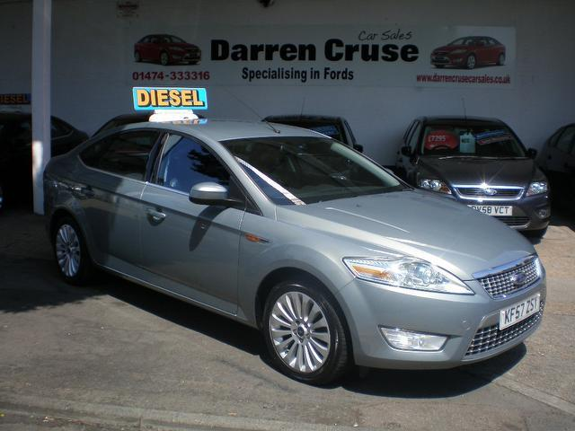 used ford mondeo 2007 model 2 0 tdci titanium x diesel hatchback grey for sale in gravesend uk. Black Bedroom Furniture Sets. Home Design Ideas