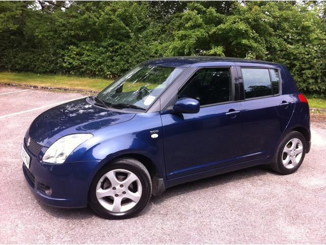 used suzuki swift 2007 manual diesel 1 3 ddis 5 door diesel blue for sale uk autopazar. Black Bedroom Furniture Sets. Home Design Ideas