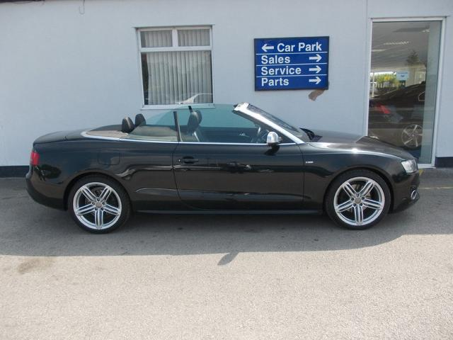 Used Audi A5 2010 Diesel 2 0 Tdi S Line Convertible Black Edition For Sale In Wirral Uk Autopazar