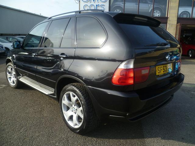 used bmw x5 2003 automatic diesel sport 5 door auto black for sale uk autopazar. Black Bedroom Furniture Sets. Home Design Ideas
