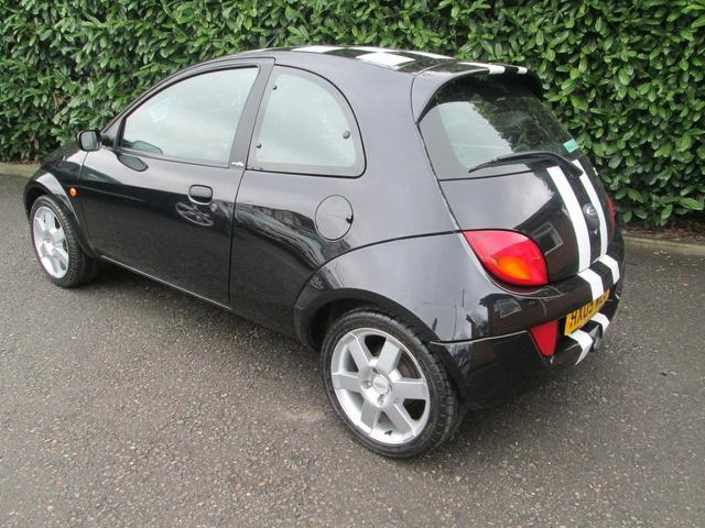 used ford ka 2005 petrol sportka se 3dr hatchback black edition for sale in southampton uk. Black Bedroom Furniture Sets. Home Design Ideas