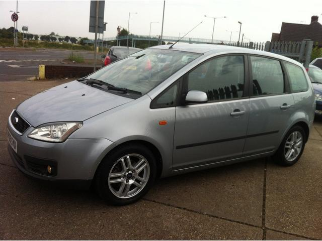 used ford focus 2005 diesel c max 1 6 tdci zetec estate silver edition for sale in ashford uk. Black Bedroom Furniture Sets. Home Design Ideas