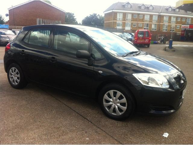 used toyota auris 2007 diesel 1 4 d 4d t3 5dr hatchback black edition for sale in ashford uk. Black Bedroom Furniture Sets. Home Design Ideas