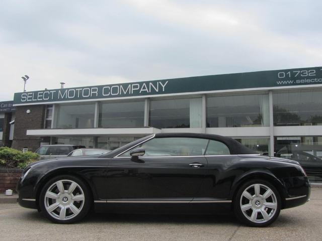 used black bentley continental 2006 petrol gtc 6 0 2dr w12 convertible excellent condition for. Black Bedroom Furniture Sets. Home Design Ideas