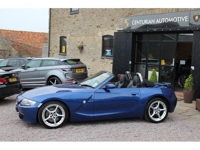 Used Blue Bmw Z4 2008 Petrol 3 0si Se 2dr Auto Convertible