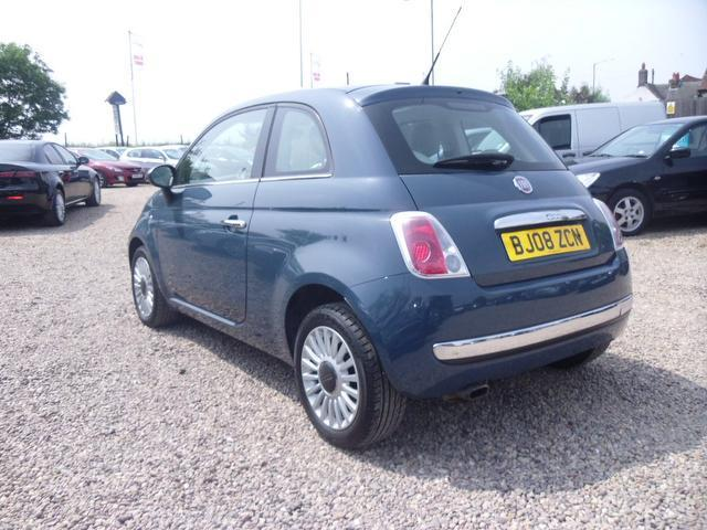 used fiat 500 2008 diesel 1 3 multijet lounge 3dr hatchback blue edition for sale in nuneaton uk. Black Bedroom Furniture Sets. Home Design Ideas