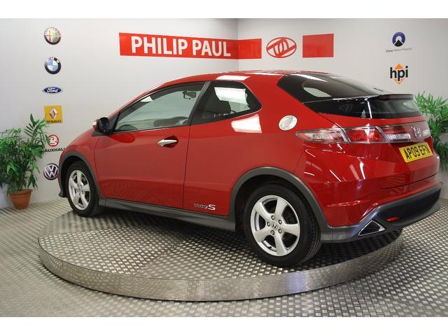 used honda civic car 2009 red petrol 1 4 i vtec type s hatchback for sale in oswestry uk autopazar. Black Bedroom Furniture Sets. Home Design Ideas