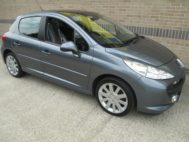 used 2007 peugeot 207 hatchback 1 6 hdi 110 gt diesel for. Black Bedroom Furniture Sets. Home Design Ideas
