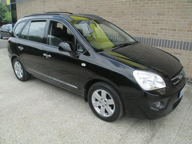 Cars For Sale Uk Norfolk: Used Kia Carens 2009 Black Paint Diesel 2.0 Crdi Gs 5dr