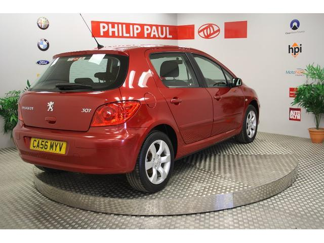 Used Peugeot 307 1.6 S 5 Door  Hatchback Red 2007 Petrol for Sale in UK