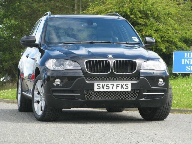 Used Bmw X5 3.0d 2007 Diesel Se 5dr Auto 4x4 Black Automatic For ...