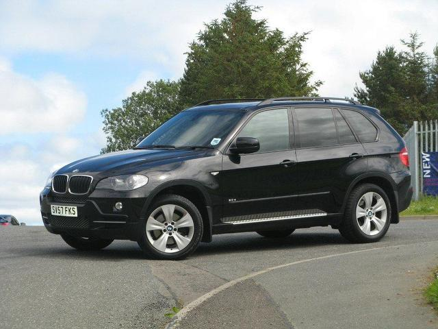 used bmw x5 2007 diesel se 5dr auto 4x4 black automatic for sale in turrif uk autopazar. Black Bedroom Furniture Sets. Home Design Ideas