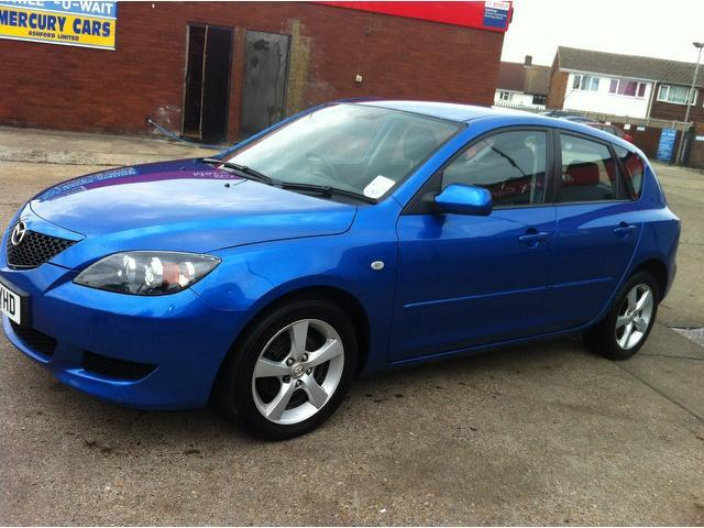 used mazda mazda3 2006 petrol 1 6 ts2 5dr hatchback blue with car immobiliser for sale autopazar. Black Bedroom Furniture Sets. Home Design Ideas