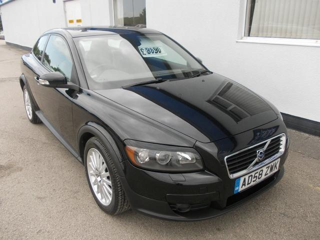 Used Cars Under 8000 >> Used Volvo C30 2008 Diesel 2.0d Se Lux 3dr Coupe Black Edition For Sale In Wirral Uk - Autopazar