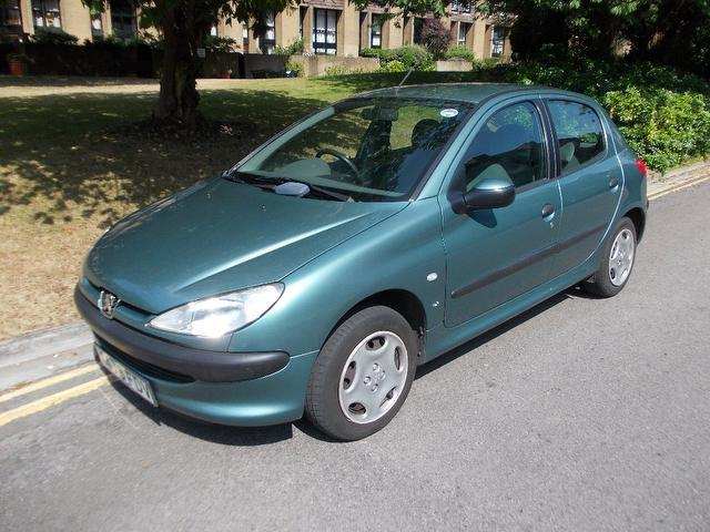 used peugeot 206 for sale under £5000 - autopazar