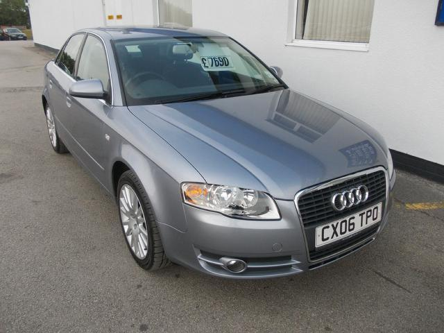 Used Audi A4 2006 Silver Saloon Diesel Manual for Sale