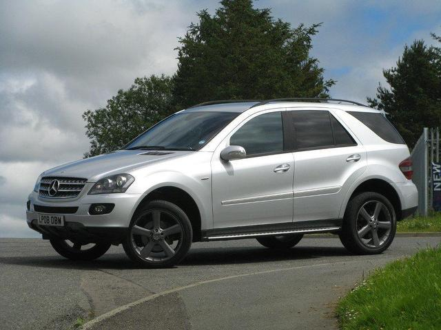 Used mercedes benz 2008 diesel class ml320 cdi edition 4x4 for Used mercedes benz sale