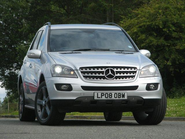 Used mercedes benz 2008 diesel class ml320 cdi edition 4x4 for Used mercedes benz ml320