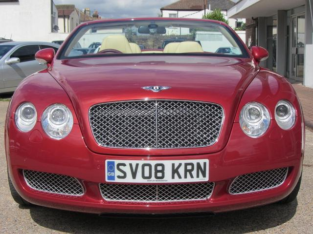 used bentley continental 2008 petrol gtc 6 0 2dr mulliner convertible red edition for sale in. Black Bedroom Furniture Sets. Home Design Ideas