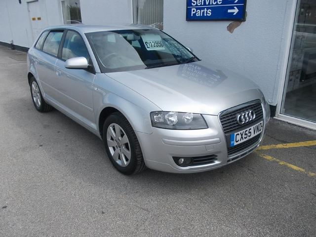 used audi a3 2006 petrol 1 6 fsi se 5dr hatchback silver with cruise control for sale autopazar. Black Bedroom Furniture Sets. Home Design Ideas