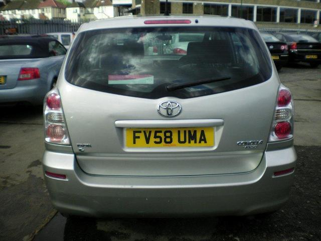 used toyota corolla 2009 petrol verso 1 6 vvt i t2 estate silver manual for sale in wembley uk. Black Bedroom Furniture Sets. Home Design Ideas