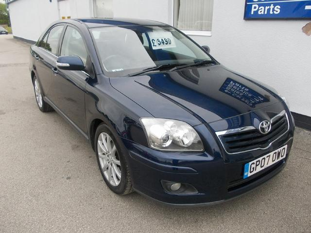 Used Toyota Avensis 2007 Blue Hatchback Petrol Manual for Sale