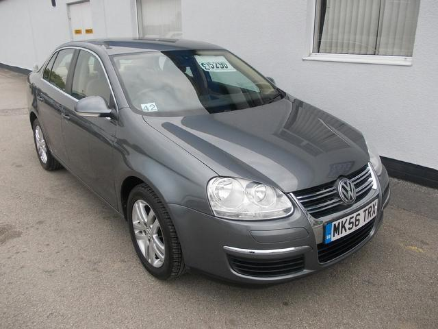 used volkswagen jetta 2006 manual petrol 1 6 se fsi 4 door grey for sale uk autopazar. Black Bedroom Furniture Sets. Home Design Ideas