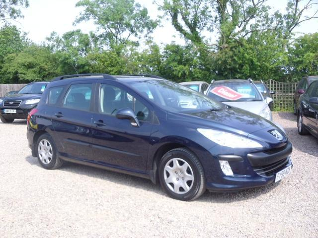 used peugeot 308 car 2009 blue diesel 1 6 hdi 110 s estate for sale in nuneaton uk autopazar. Black Bedroom Furniture Sets. Home Design Ideas