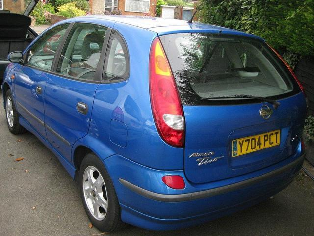 used nissan almera 2001 petrol tino 1 8 se 5dr estate blue manual for sale in sittingbourne uk. Black Bedroom Furniture Sets. Home Design Ideas