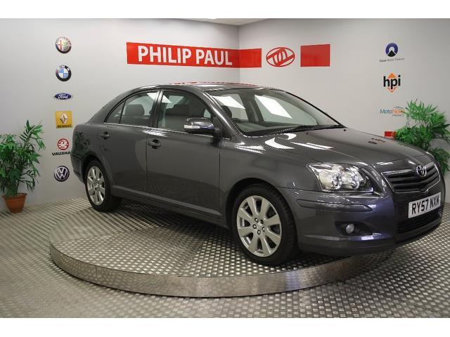 Used Toyota Avensis 2007 Grey Hatchback Diesel Manual for Sale