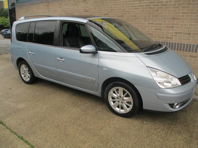 Cars For Sale Uk Norfolk: Used Renault Grand Car 2007 Blue Diesel Espace 2.2 Dci