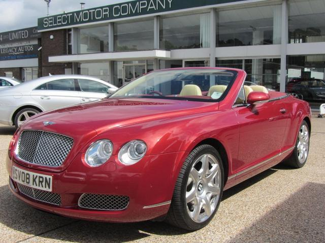 used 2008 bentley continental convertible 6 0 w12 2dr auto petrol for sale in sevenoaks uk. Black Bedroom Furniture Sets. Home Design Ideas