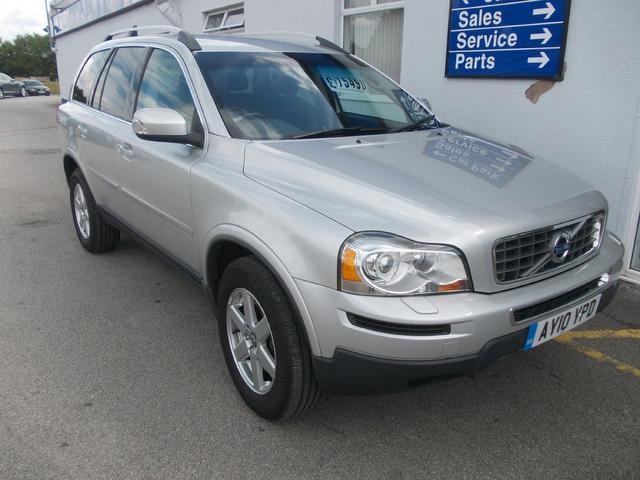 used volvo xc90 2010 model 2 4 d5 active 5dr diesel 4x4 silver for sale in wirral uk autopazar. Black Bedroom Furniture Sets. Home Design Ideas