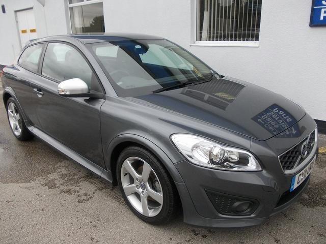 used volvo c30 2011 grey paint diesel d2 115 r design coupe for rh autopazar co uk used volvo c30 manual for sale Volvo C30 Polestar