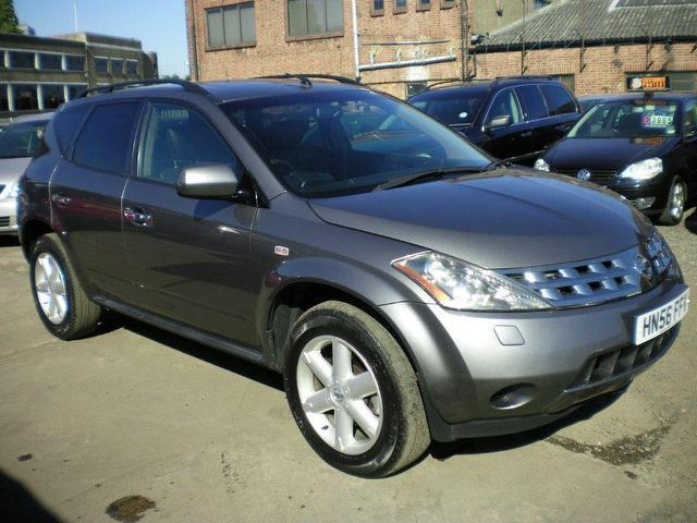 used nissan murano 2006 petrol 3 5 v6 5dr cvt 4x4 grey automatic for sale in wembley uk autopazar. Black Bedroom Furniture Sets. Home Design Ideas