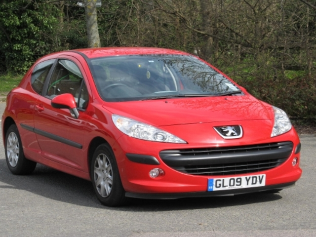 Used Cars Under 4000 >> Used Peugeot 207 2009 Petrol Red With For Sale - Autopazar