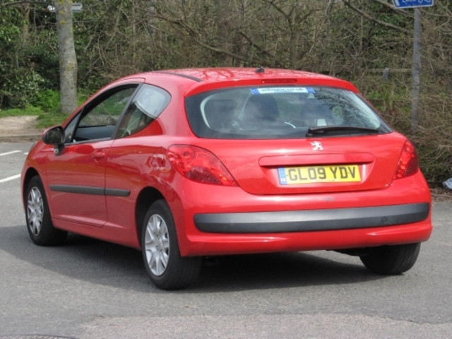 Used Peugeot 207  Red 2009 Petrol for Sale in UK