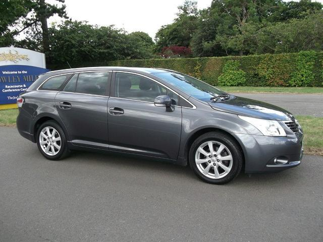 Used Toyota Avensis 2009 Grey Estate Diesel Manual for Sale
