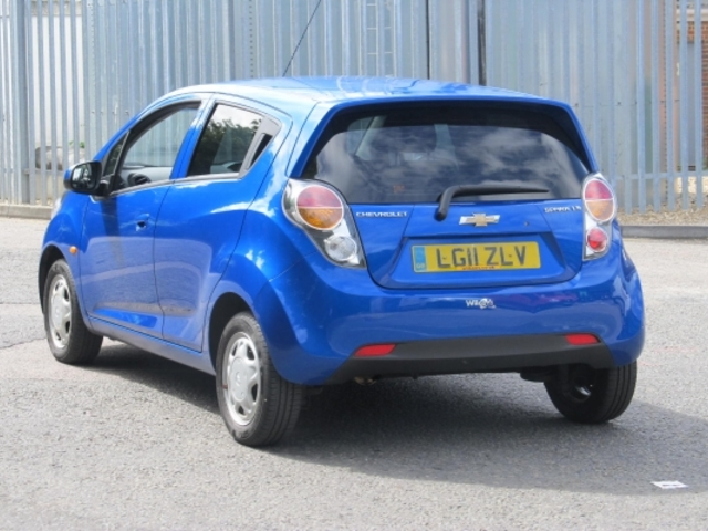 used chevrolet spark 2011 manual unleaded blue for sale uk autopazar. Black Bedroom Furniture Sets. Home Design Ideas