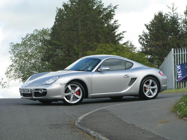 used porsche cayman 2006 petrol 3 4 s 2dr coupe silver manual for sale in turrif uk autopazar. Black Bedroom Furniture Sets. Home Design Ideas