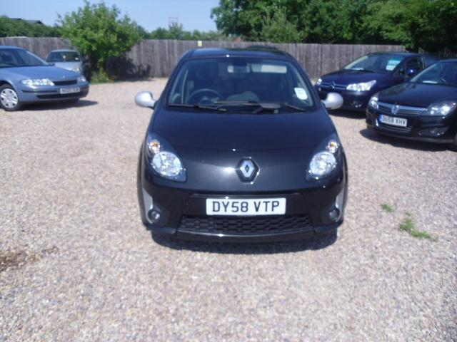 Used Renault Twingo 1.2 Tce Gt 3 Door Hatchback Black 2008 Petrol for Sale in UK