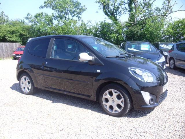 Used Renault Twingo 2008 Black Hatchback Petrol Manual for Sale