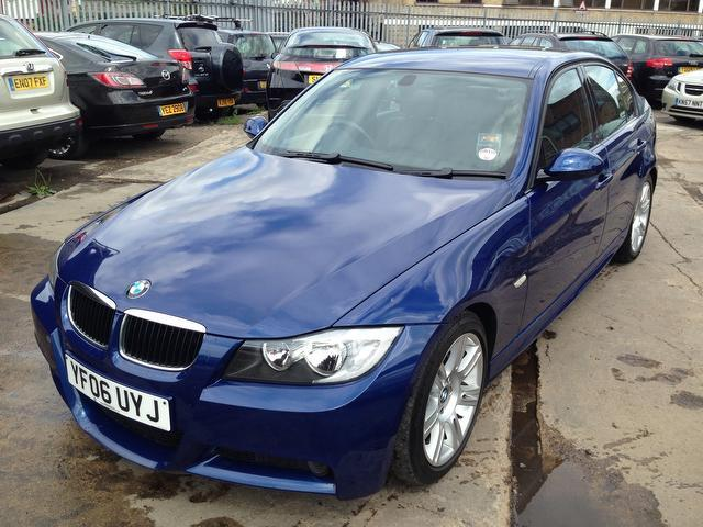used bmw 3 series 2006 diesel 320d m sport saloon blue edition for sale in wembley uk autopazar. Black Bedroom Furniture Sets. Home Design Ideas