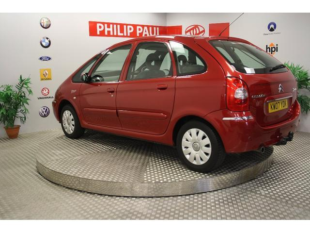 used citroen xsara 2007 diesel picasso 1 6 hdi 92 estate red edition for sale in oswestry uk. Black Bedroom Furniture Sets. Home Design Ideas