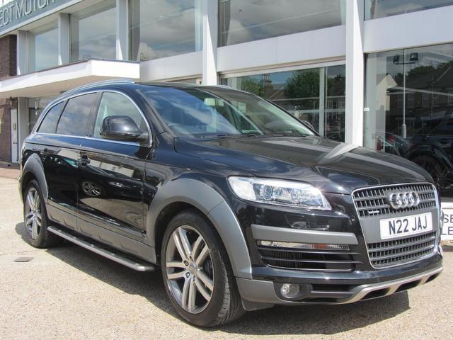 used black audi q7 2007 diesel 3 0 tdi quattro limited 4x4 excellent condition for sale autopazar. Black Bedroom Furniture Sets. Home Design Ideas