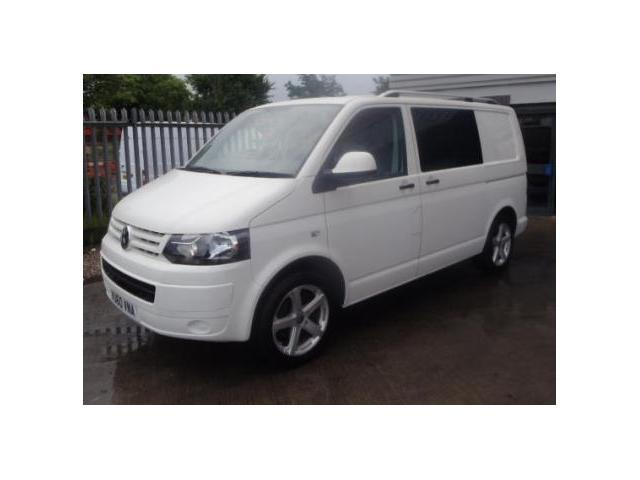 used volkswagen transporter car 2011 white diesel 2 0 tdi kombi 6 combi van for sale in penzance. Black Bedroom Furniture Sets. Home Design Ideas