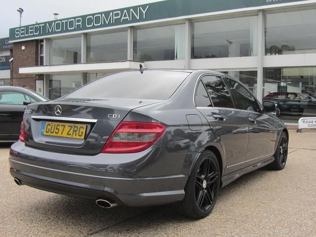 used mercedes benz 2007 grey colour diesel class c320 cdi sport saloon for sale in sevenoaks uk. Black Bedroom Furniture Sets. Home Design Ideas