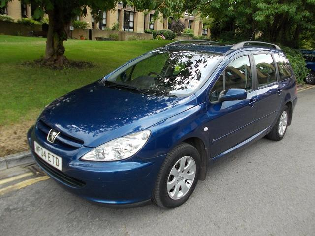 used peugeot 307 2004 manual diesel 1 6 hdi 110 s blue for sale uk autopazar. Black Bedroom Furniture Sets. Home Design Ideas