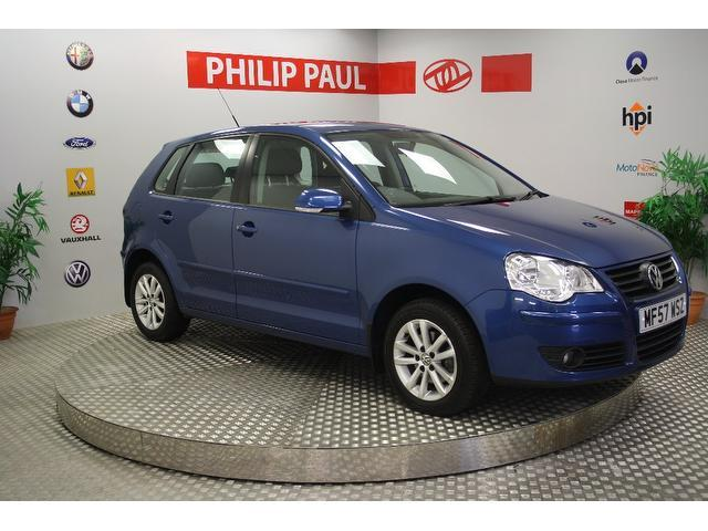 Used Volkswagen Polo 2007 Blue Hatchback Petrol Automatic for Sale